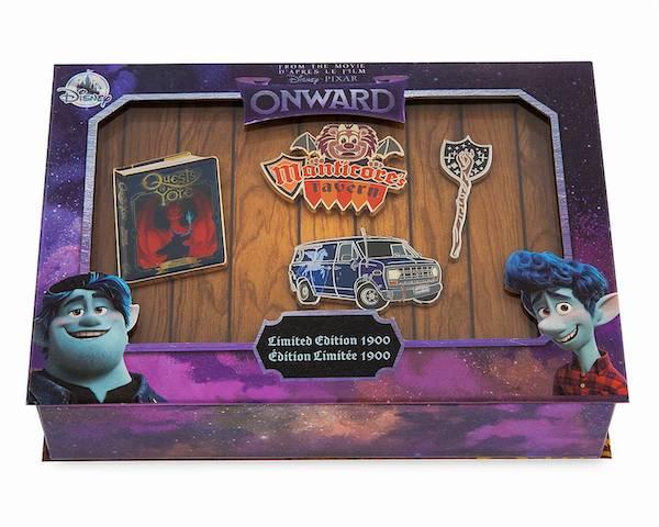 Onward Limited Edition Pin Set