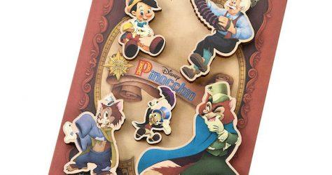 Pinocchio 80th Anniversary Disney Store Japan Pin Set