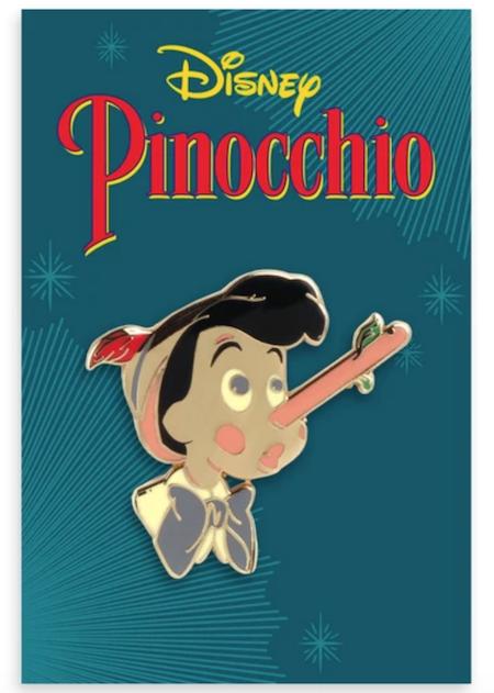 Pinocchio Mondo Disney Pin