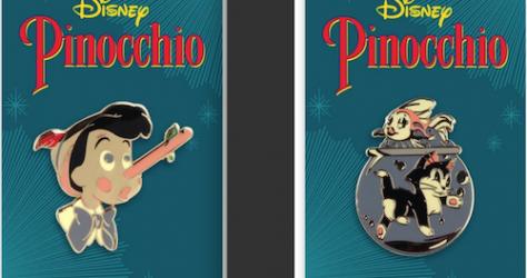 Pinocchio Mondo Disney Pins