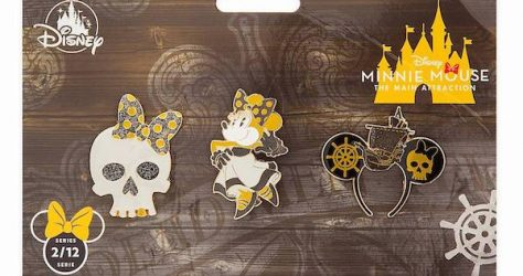 Pirates of the Caribbean Minnie Mouse The Main Attraction Pin Set