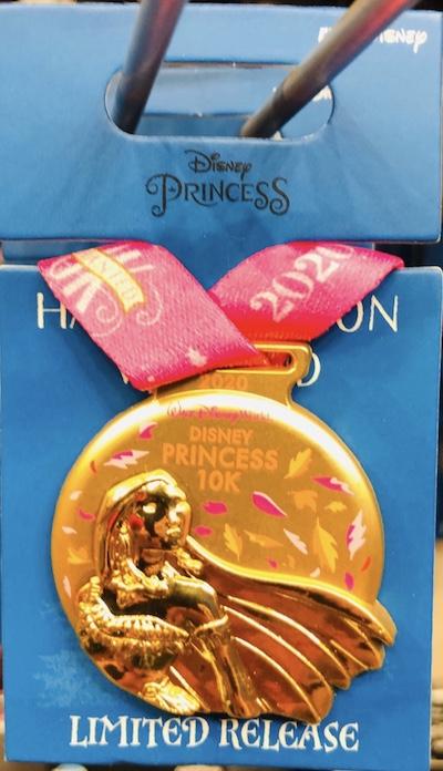 Pocahontas 10k Medal Pin