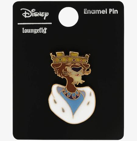 Prince John Robin Hood BoxLunch Disney Pin