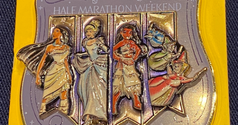 Princess Half Marathon Weekend 2020 Disney Pins