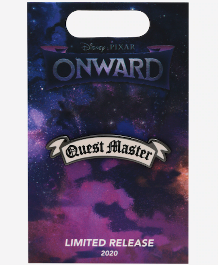 Quest Master Disney Pixar Onward BoxLunch Pin