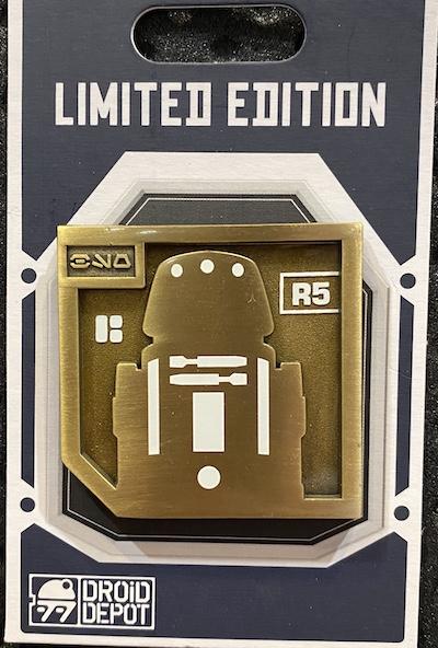 R5 Droid Depot Star Wars Galaxy's Edge Pin