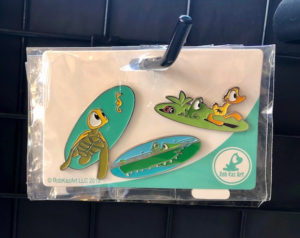 Rob Kaz Art Pin Set at Epcot