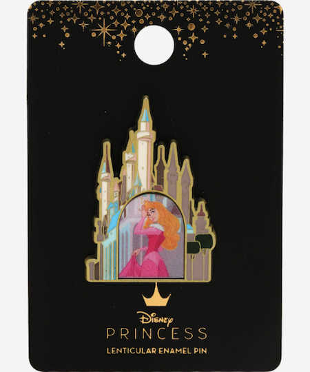 Sleeping Beauty Castle Lenticular BoxLunch Disney Pin