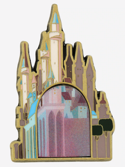 Sleeping Beauty Castle Lenticular BoxLunch Pin