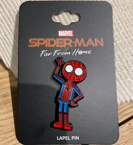 Spider-Man Far From Home Wave BoxLunch Marvel Pin