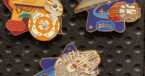 Star Wars Play Disney Parks App 2020 Pins