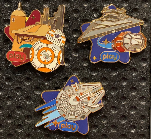 Star Wars Play Disney Parks App 2020 Pins