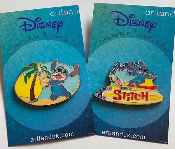 Stitch LE 250 ArtLand Disney Pins