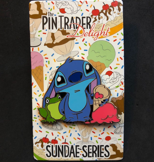 Stitch Pin Trader Delight