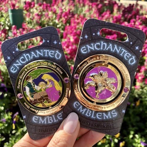 Tangled Enchanted Emblem Disney Pin