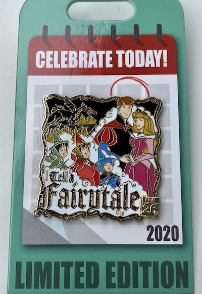 Tell a Fairytale Day Celebrate Today Disney Pin