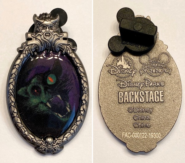 The Haunted Mansion Disney Backstage Collection Pin