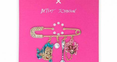 The Little Mermaid Dangle Pin by Betsey Johnson - shopDisney