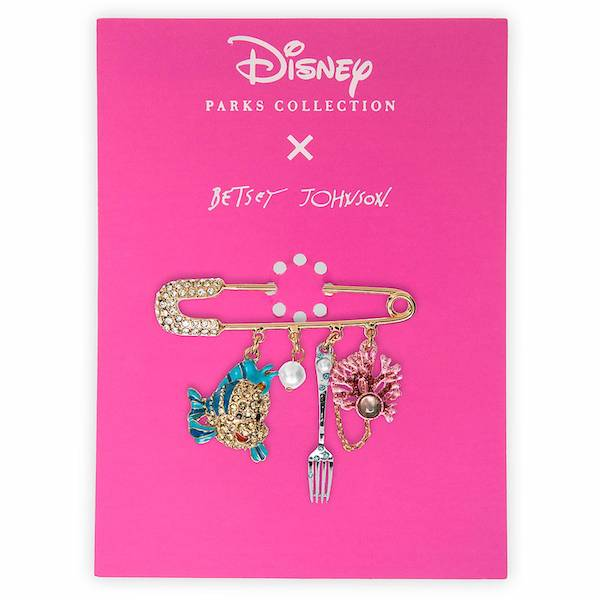 The Little Mermaid Dangle Pin by Betsey Johnson - shopDisney