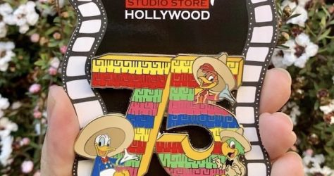 The Three Caballeros 75th Anniversary Surprise DSSH Pin