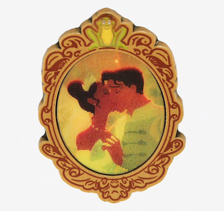 Tiana and Naveen Lenticular BoxLunch Pin