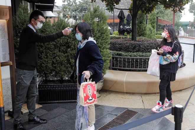 Shanghai Disney Store Reopens After Coronavirus Shutdown