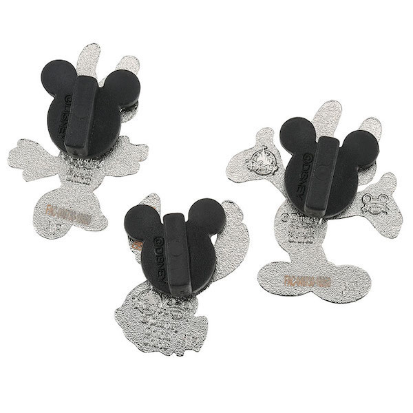 Back of Mickey Mouse and Friends Easter shopDisney Pin Set