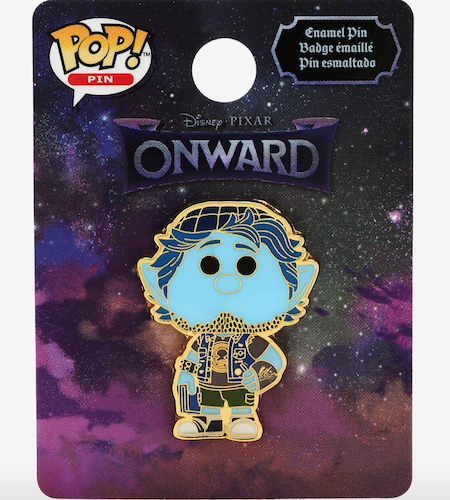 Barley Lightfoot Onward Funko Pop Pin