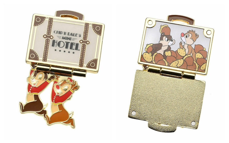 Chip n Dales Mini Hotel Disney Hinged Pin