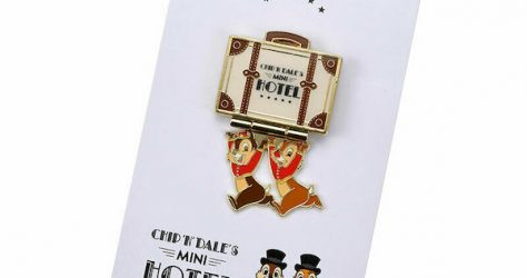 Chip n Dale's Mini Hotel Disney Store Japan Pin