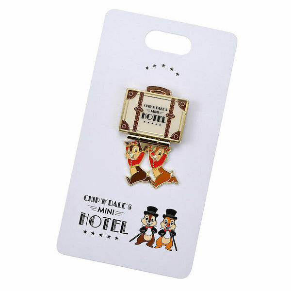 Chip n Dale's Mini Hotel Disney Store Japan Pin