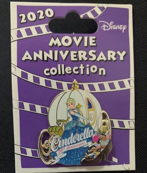 Cinderella 70th Anniversary Cast Member Pin