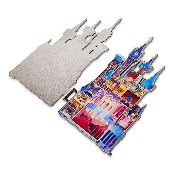 Cinderella Castle Collection Series 1 Disney Pin - Inside