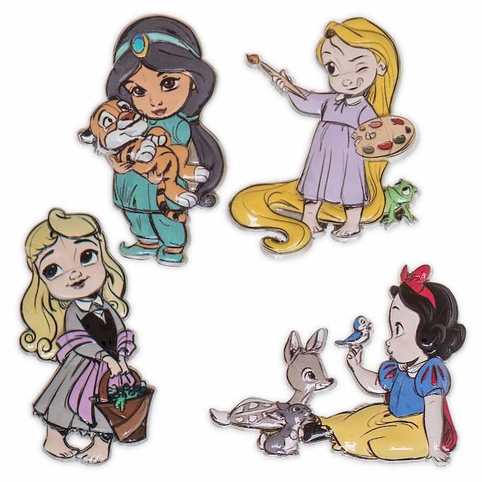 Disney Animators' Collection Series 2 Mystery Pin Set