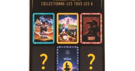 Disney Movie Poster Mystery Pin Set