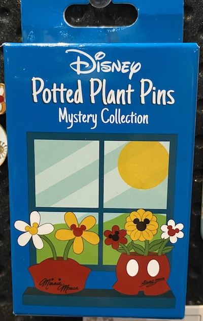 Disney Potted Plant Mystery Pin Collection