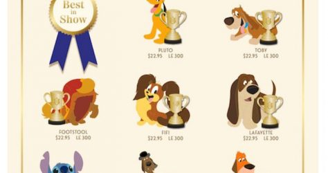 Disney's Best in Show Series 2 WDI Pin Collection