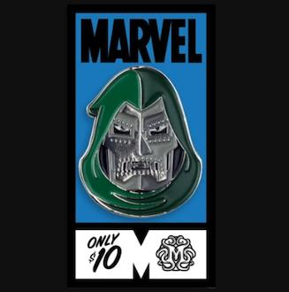 Doctor Doom Fantastic Four Mondo Marvel Pin