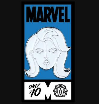 Invisible Woman Fantastic Four Mondo Marvel Pin