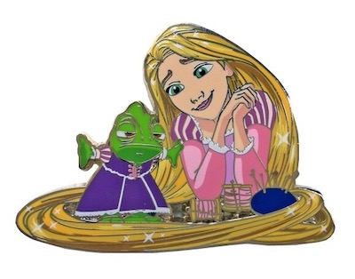 Rapunzel - Princess & Friends ArtLand Disney Pin