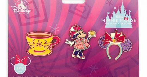 Mad Tea Party Minnie Mouse The Main Attraction Pin Set