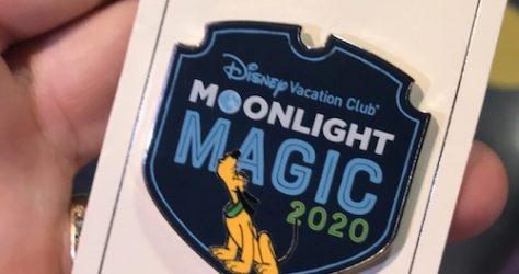 Magic Kingdom Moonlight Magic 2020 Pin