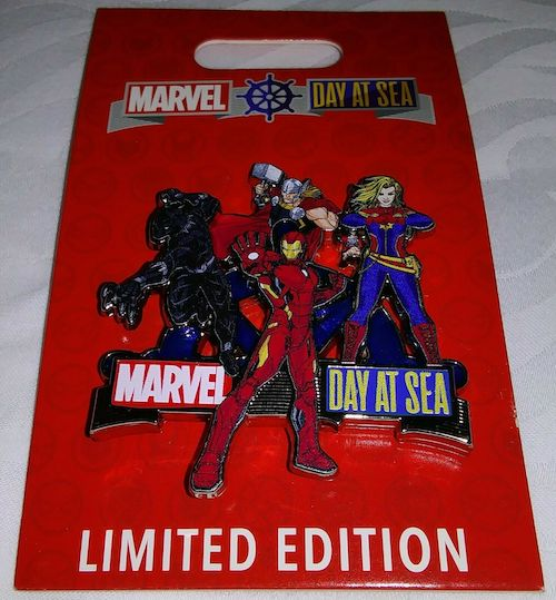 Marvel Day at Sea 2020 DCL Pin