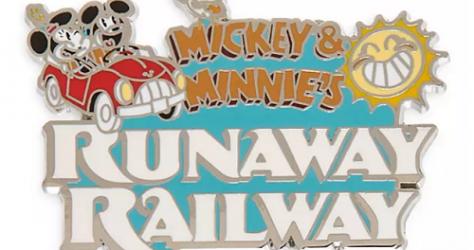 Mickey & Minnie's Runaway Railway Grand Opening Pins