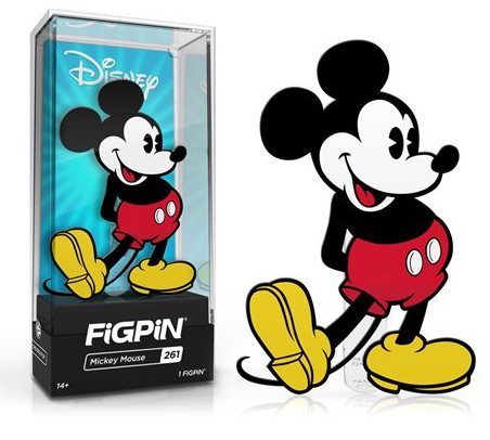 Mickey Mouse FiGPiN Disney Pin