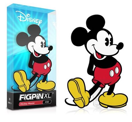 Mickey Mouse FiGPiN XL Pin