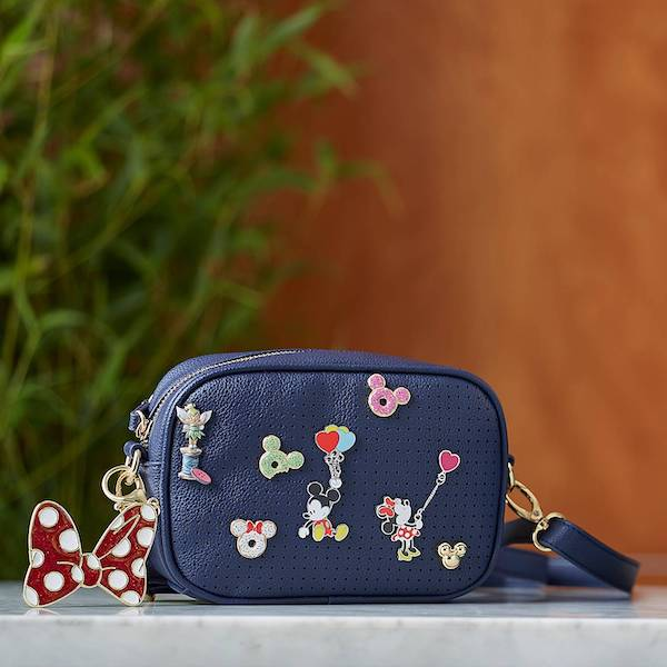 Mickey Mouse Icon Flair Convertible Bag with Pins