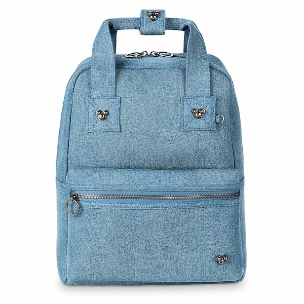 Mickey Mouse Icon Flair Denim Backpack