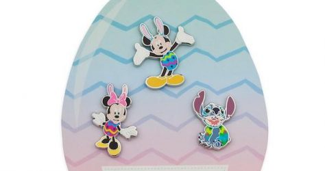 Mickey Mouse and Friends Easter Pin Gift Set