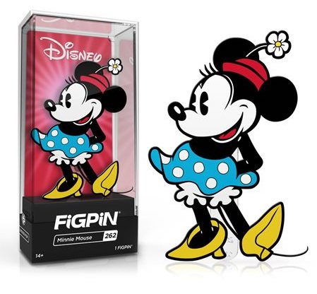 Minnie Mouse FiGPiN Disney Pin